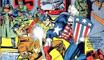 Captain America was born to fight the Nazis.