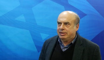 Jewish Agency Chairman Natan Sharansky.