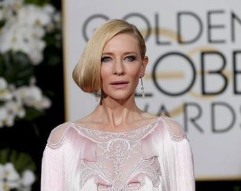 Cate Blanchett arrives at the 73rd Golden Globe Awards in Beverly Hills, California January 10, 2016.