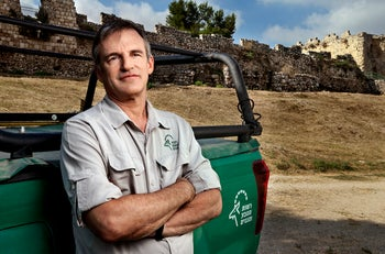 Shaul Goldstein is the director general of the Israel Nature and Parks Authority.