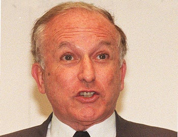 British politician Greville Janner, Sept. 10, 1996.