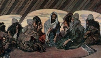 Jethro and Moses, a watercolor circa 1896–1902, by James Tissot.