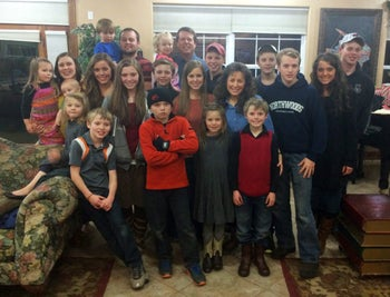 This undated image released by TLC, shows some members of the Duggar family from the reality series '19 Kids & Counting.'
