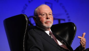 Mega-donor Paul Singer is backing presidential hopeful Marco Rubio in the GOP race.