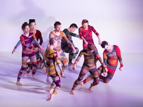 The 'Wallflower' dancers. A sense of human freedom.
