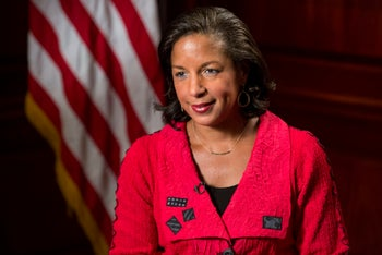 National Security Advisor Susan Rice. July 15, 2015.