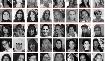 40 of the 100 women murdered in Israel by domestic violence from 2011-2015.