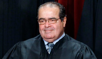 U.S. Supreme Court Justice Antonin Scalia, Oct. 8, 2010.