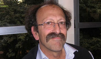 Prof. David Dean Shulman, a professor in the Department of Indian and Armenian Studies at Hebrew University in Jerusalem.