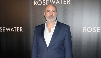 "Kim Bodnia at the New York City premiere of the film ""Rosewater,"" Nov. 12, 2014."