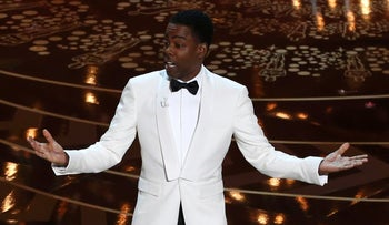 Host Chris Rock opens the show at the 88th Academy Awards in Hollywood, California February 28, 2016.