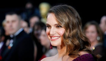 Actress Natalie Portman before the 83rd Academy Awards, February 27, 2011.