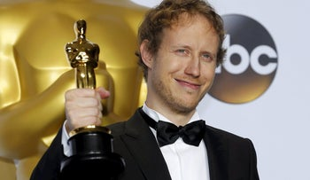 """Laszlo Nemes, director of Hungarian film """"Son of Saul"""" which won an Oscar for the Best Foreign Language Film."""