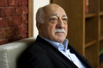 Turkish Islamic preacher Fethullah Gulen at his residence in Saylorsburg, Pa. March 15, 2014