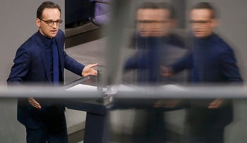 German Justice Minister Heiko Maas makes a speech at a session of the German lower house of parliament, the Bundestag, in Berlin, Germany, January 13, 2016.