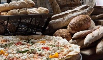 Jaffa's Gluteria will offer gluten-free pizzas and breads throughout Passover.
