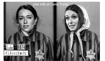 Journalist Julia Ioffe was targeted in anti-semitic tweets after writing a profile of Donald Trump's wife Melania.