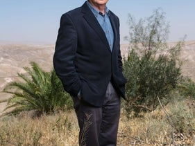 Aryeh Eldad - once the IDF's chief medical officer and later an MK of for the National Union