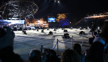 Israel's official Independence Day ceremony at Mount Herzl, May 11, 2016.