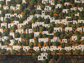 Nabil Anani's 'View from the West of Ramallah' (2013).