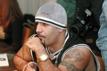 Israeli rapper Yoav Eliasi, aka the Shadow, who is also a right-wing activist.