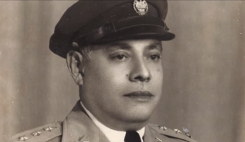 El Salvador's consul general in Geneva during World War II, Jose Arturo Castellanos.