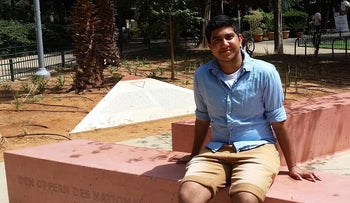 Guy Tiram has been volunteering with the transgender division of IGY, an organization dedicated to LGBT youth in Israel.