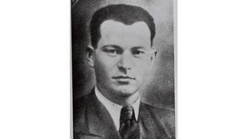David Raziel, one of the founders and commander of the Etzel underground organization, who was killed in action during WWII while serving with the British.