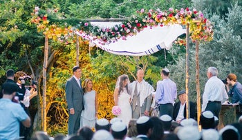 Wedding in Hadera forest, planned by Naomi Tabor – Imagine Events.