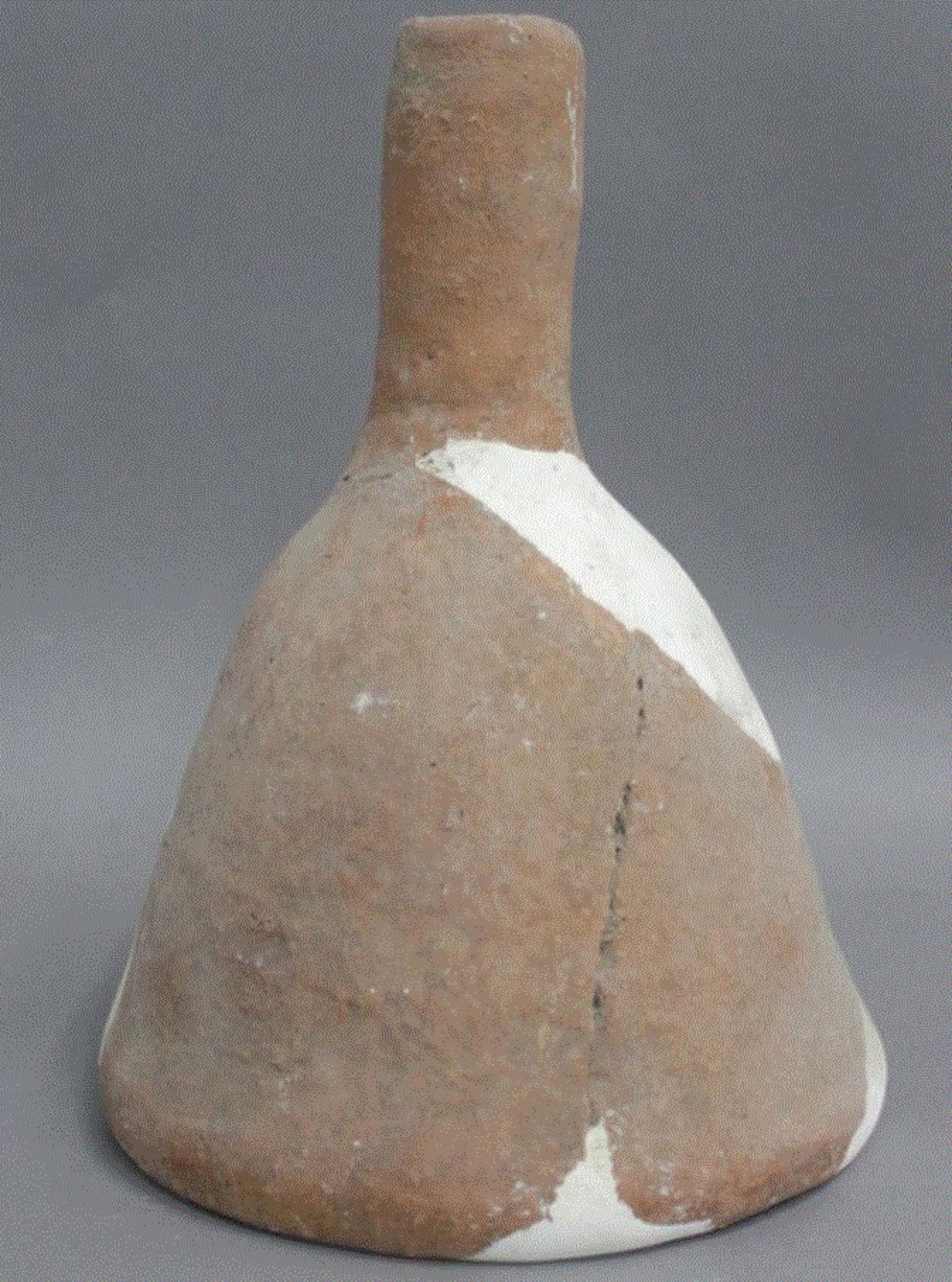 5,000-year old clay funnel used in beer production in Mijiaya, China.