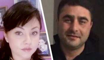 Anastasia Rusanov, left, and Eliezer Kandinov, whose bodies were found at Rusanov's Rishon Letzion apartment on Wednesday.