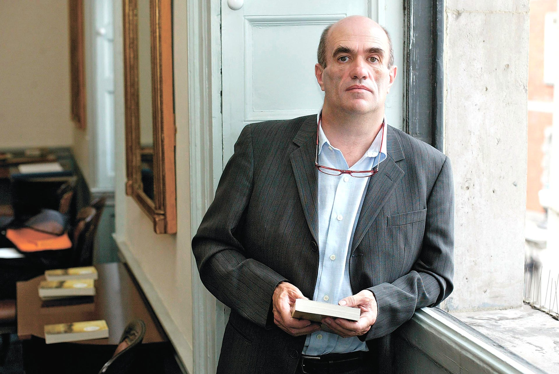 Irish writer Colm Toibin.