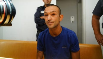 The accused, Ashraf Tahimer, in court.
