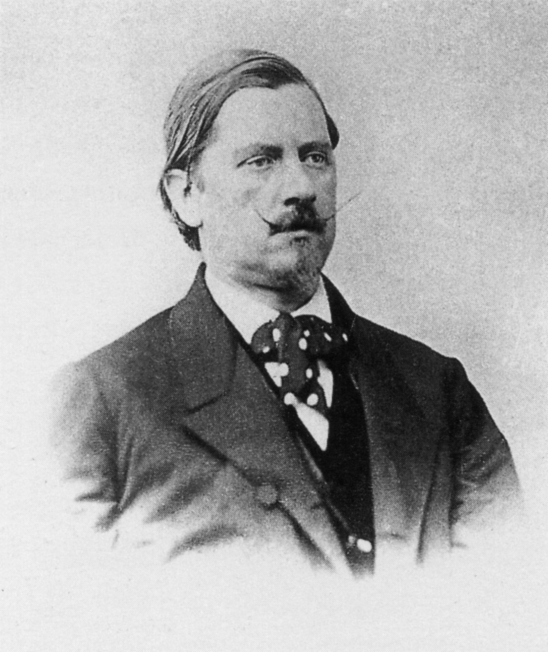 Karl-Maria Kertbeny, ca. 1865. He is best known for coining the words heterosexual and homosexual.