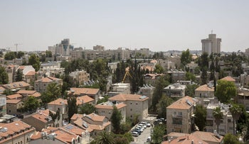 Jerusalem's upscale Rehavia neighborhood, in which property was leased by the church in the 20th century for long periods of time.