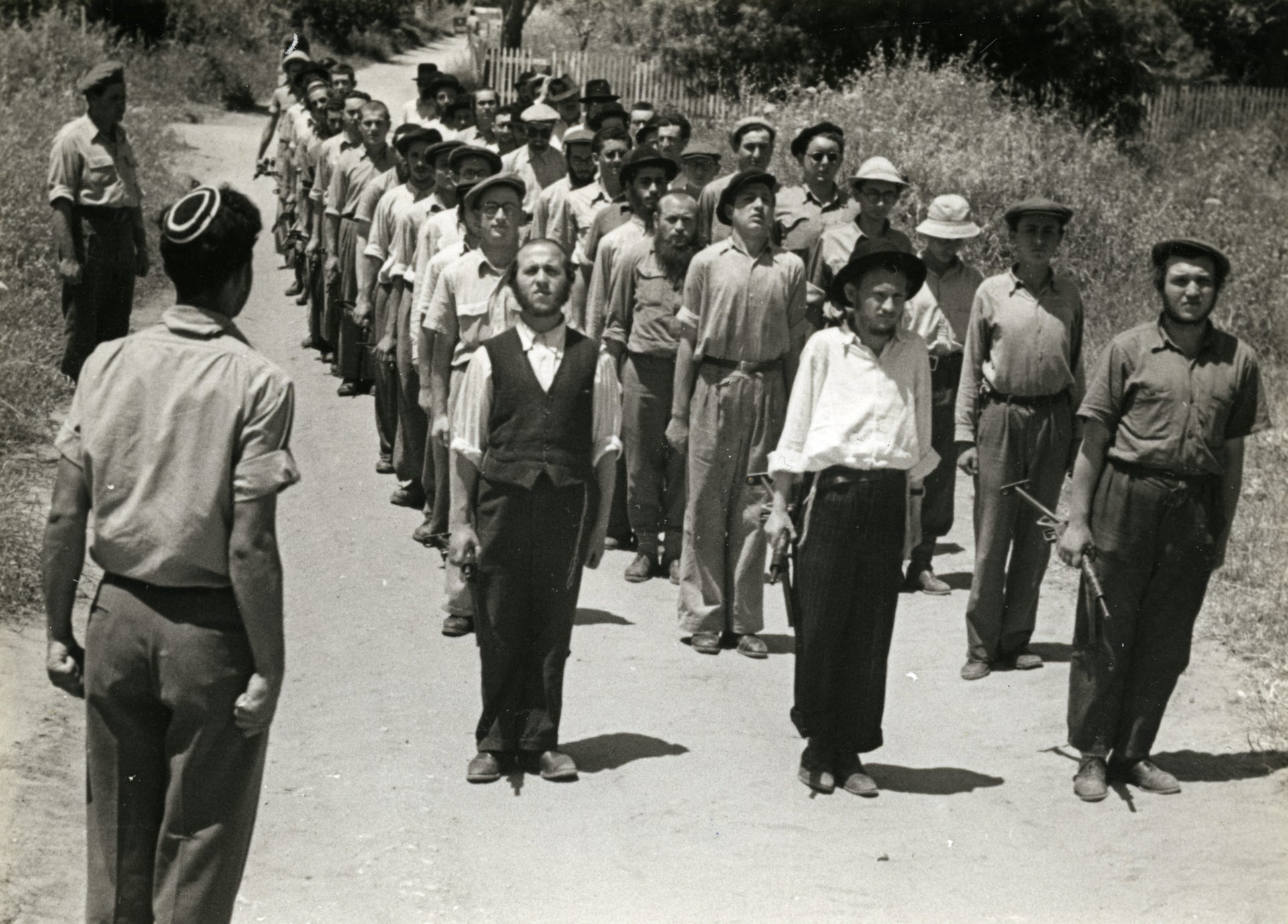 An Orthodox platoon in the Haganah.