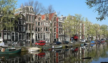 View of Amsterdam.