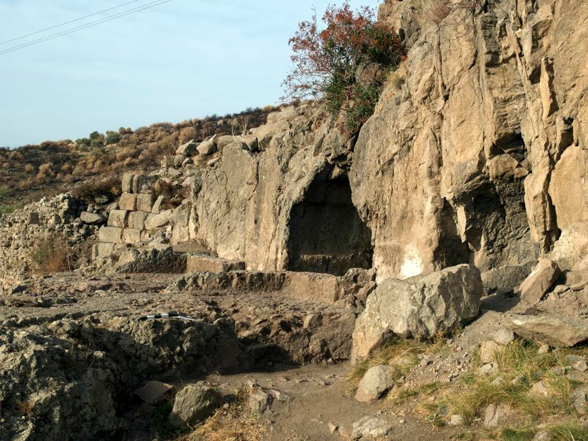 A cave sanctuary on the hillside of ancient Pergamon: The city was crawling with cults.
