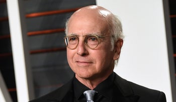 Larry David arrives at the Vanity Fair Oscar Party in Beverly Hills, California, U.S., February 28, 2016.