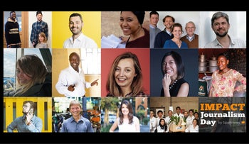Meet those who have successfully provided solutions in the fields of health, water, energy, finance, education, employment, and more.