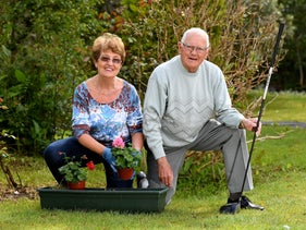 Mary and her husband Barry Fairtlough, from Killorglin, County Kerry. Loved having guests stay with them.