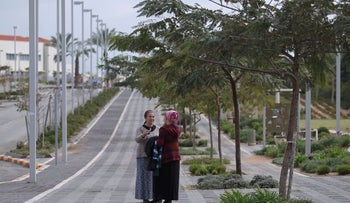 The community of Nitzan in southern Israel, home to some 500 families of evacuees from Gush Katif in Gaza, 2016.