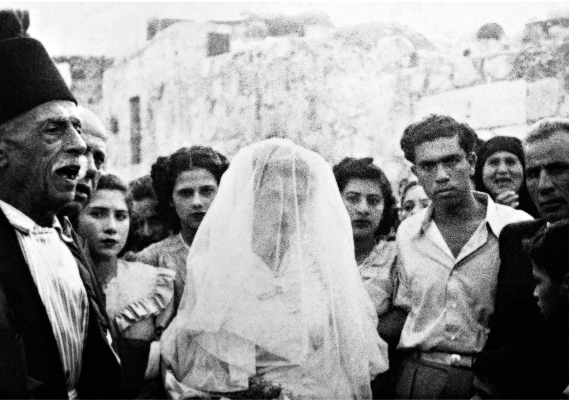 'The wedding of Yaakov and Samira, Lod 1949' by Dor Guez.