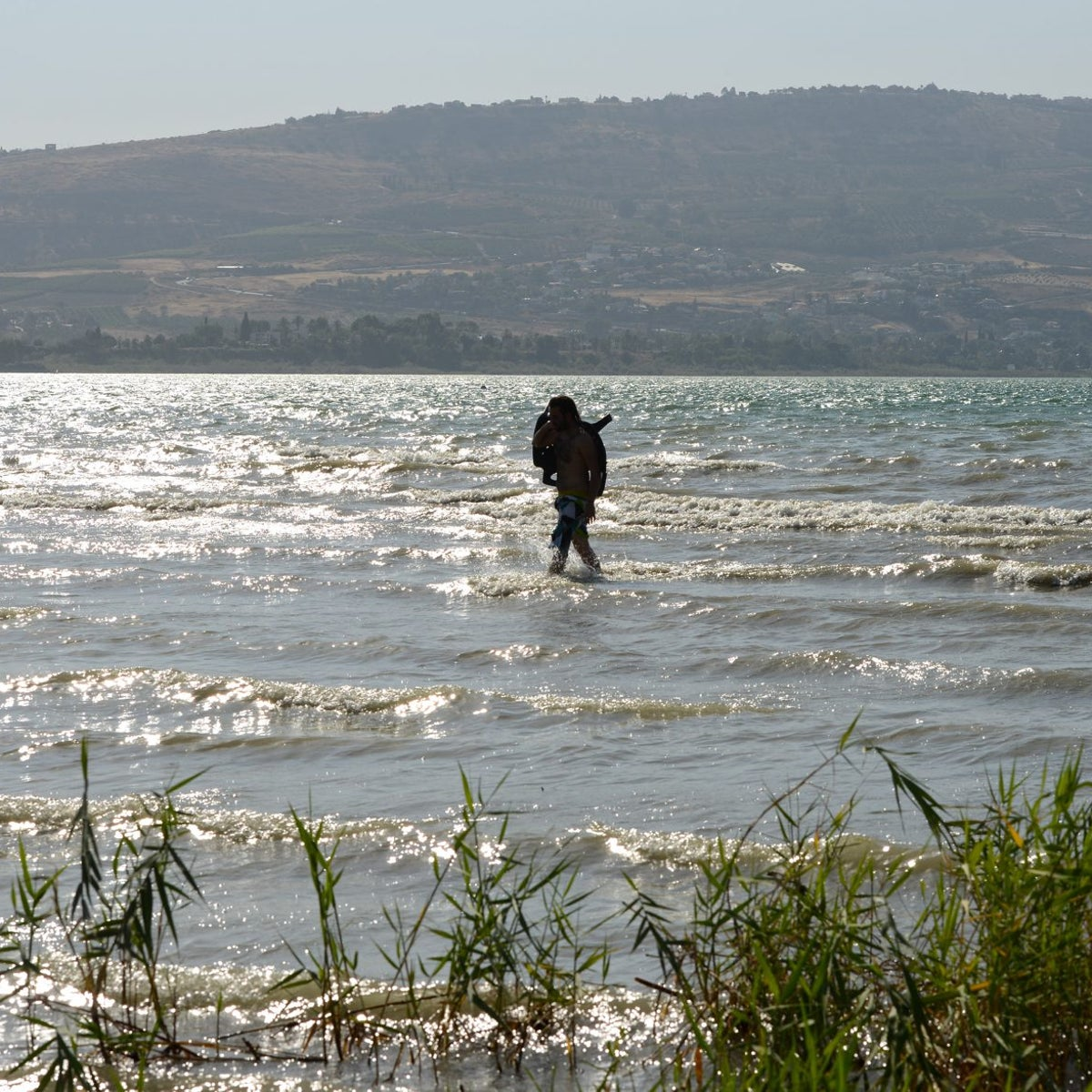 The water level in the Sea of Galilee is sinking fast.