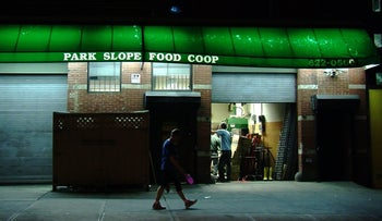 The Park Slope Food Co-Op in Brooklyn, New York.