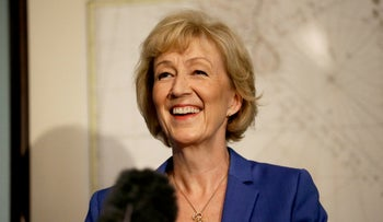 British ruling Conservative Party Member of Parliament, Andrea Leadsom, launches her campaign in London, U.K., July 4, 2016.