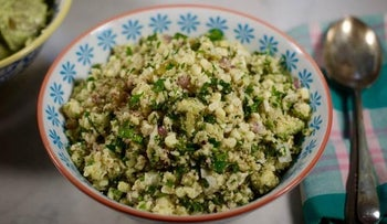 Corn and Coconut Tabouleh