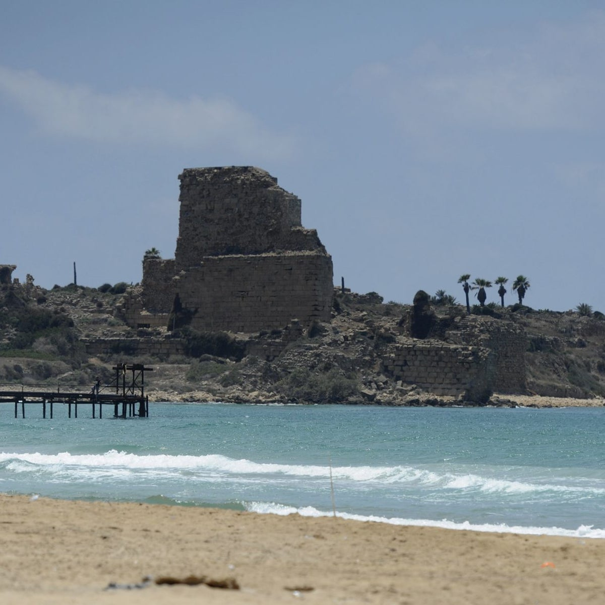 The Atlit fortress.