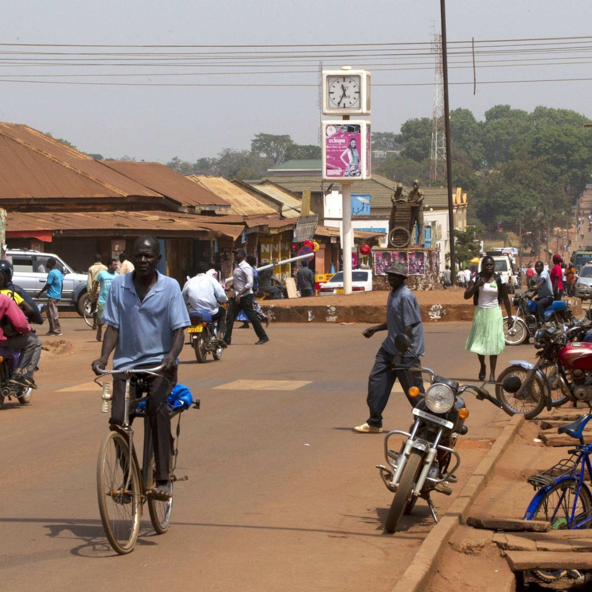 Gulu, a city located north of Uganda's capital, in 2015.