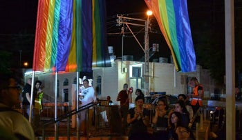 The evening after the Be'er Sheva gay pride parade, 2013.